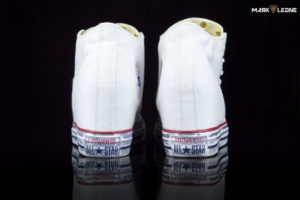 Handmade Converse Chuck Taylor Lux Mid Leather Snakeskin by Mark Leone ®
