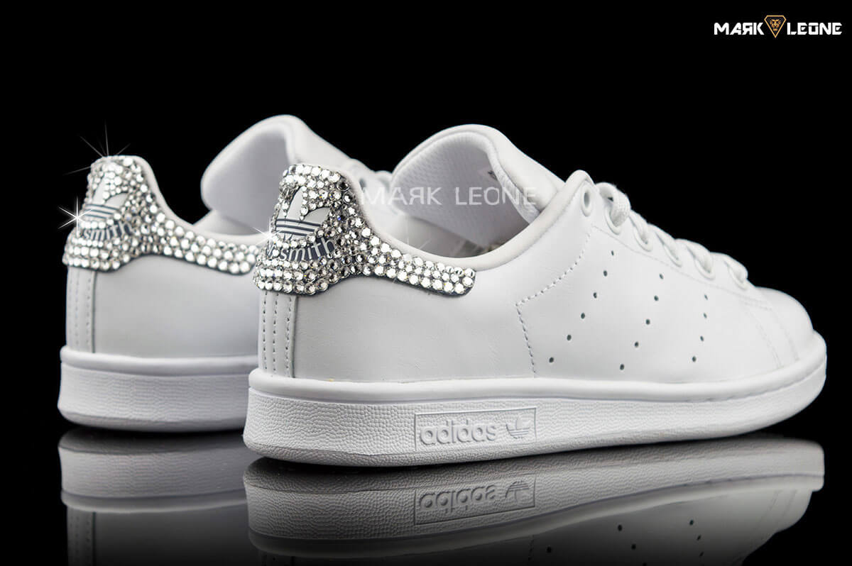 Handmade Adidas Stan Smith Original Swarovski Crystal by Mark Leone ® 7095f1913