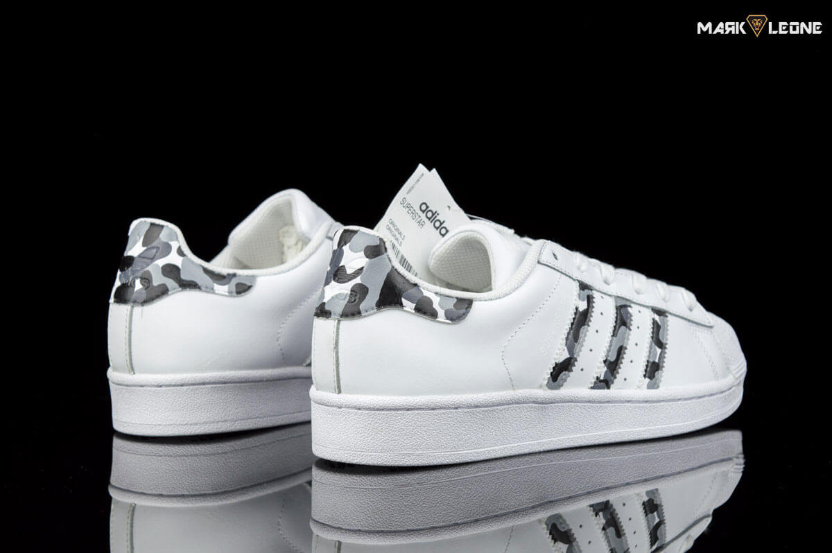 b1498988995f store hand painted adidas super star camo by mark leone . zoom images 770ae  b23c6