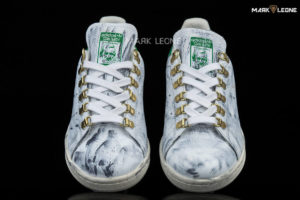Handmade Adidas Stan Smith Original Painting Studs by Mark Leone ®