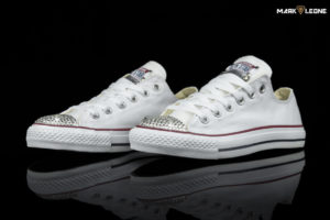 Handmade Converse All Star Swarovski Crystal Element by Mark Leone ®