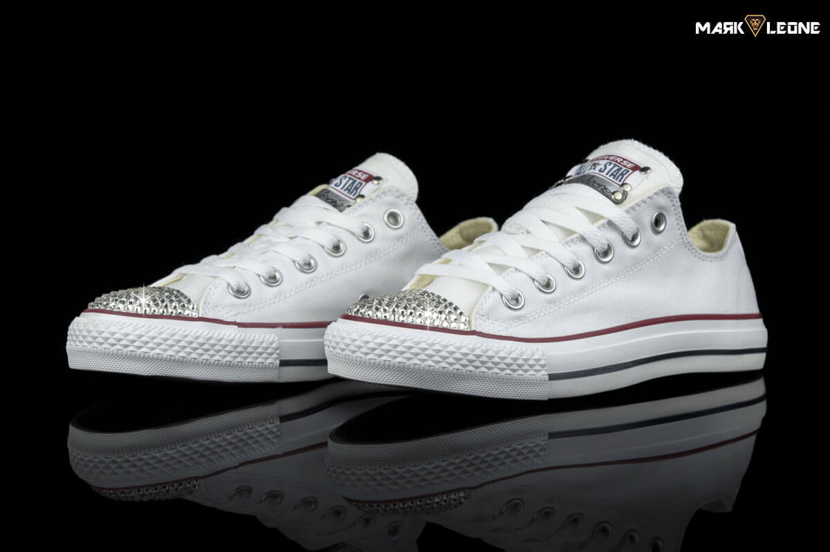 cd6b56c91388 Handmade Converse All Star Swarovski Crystal Element by Mark Leone ®
