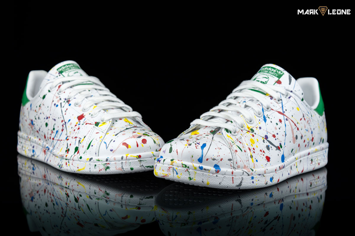 ADIDAS STAN SMITH PAINTING CON PELO