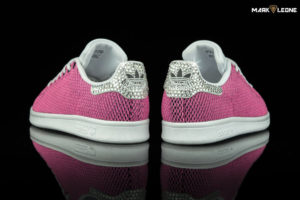 Custom Adidas Stan Smith Swarovski Crystal Color Shift by Mark Leone ®
