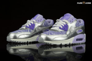 Custom Nike Air Max 90 Swarovski Crystal 2007 GS by Mark Leone ®
