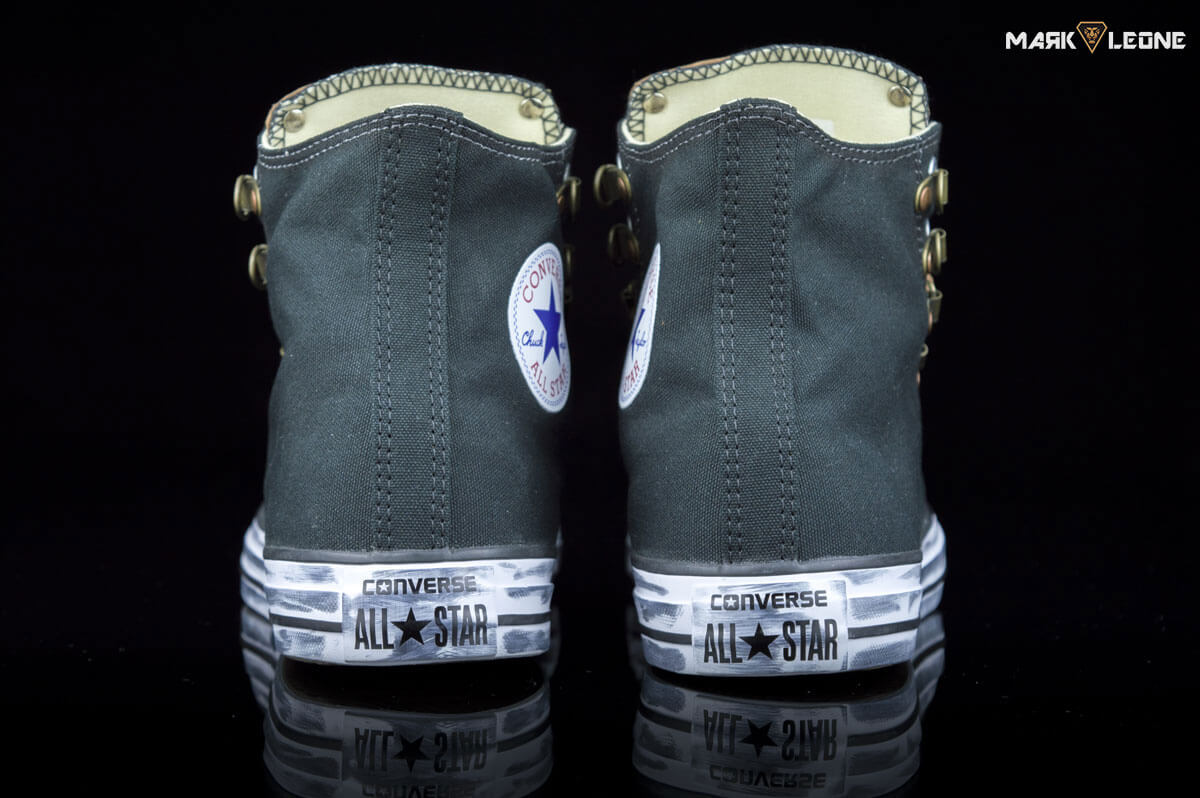 Customade Converse Chuck Taylor High Top Leather Spikes by Mark Leone ® fd32d4325