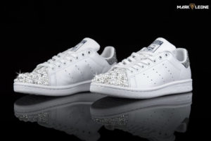 Handmade Adidas Stan Smith Swarovski Elements Pearls by Mark Leone ®