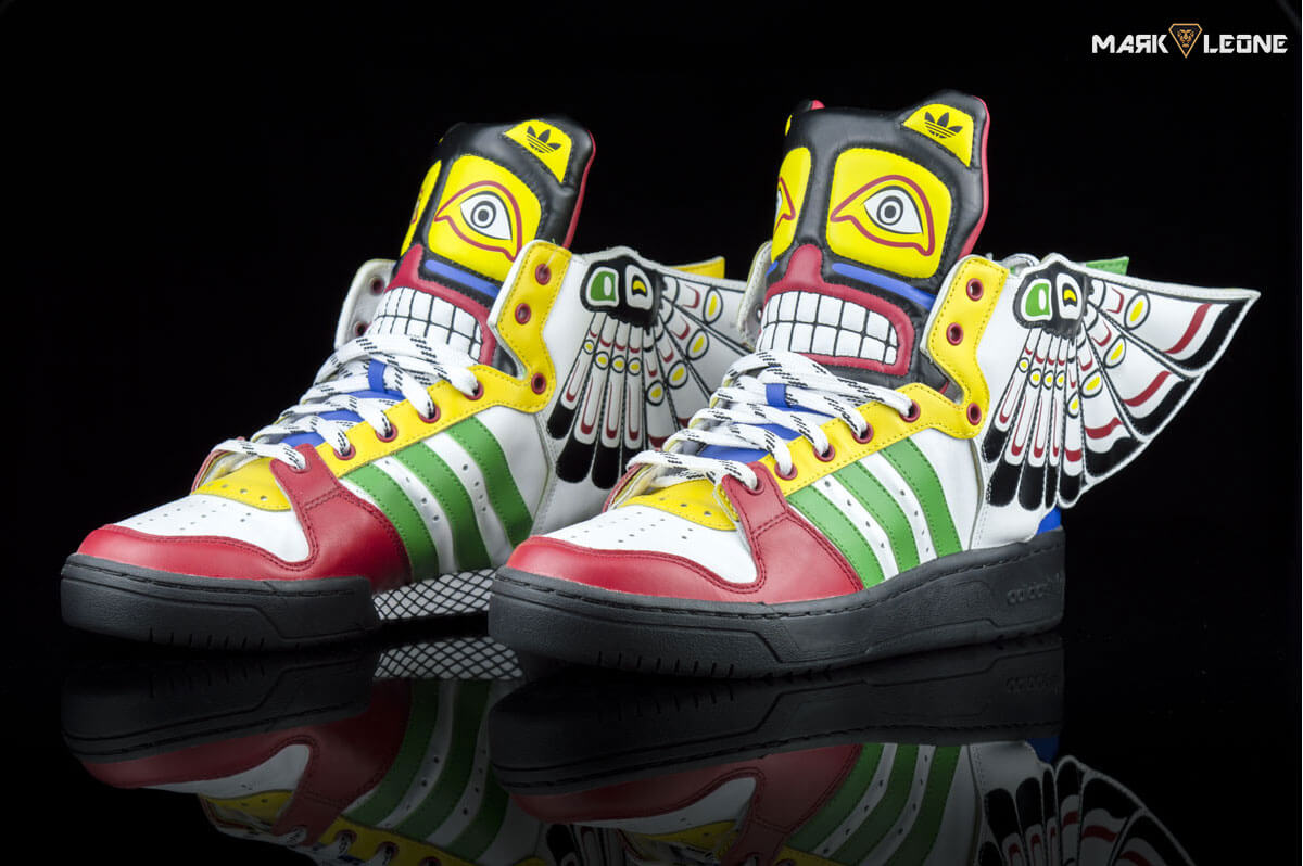 newest collection 74857 fe055 Adidas Originals Jeremy Scott Eagle Wing Totem