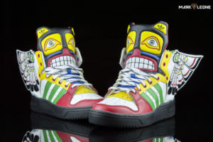 Adidas Originals Jeremy Scott Eagle Wing Totem